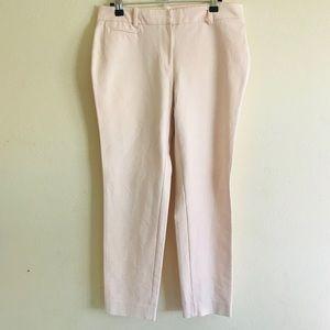 White House Black Market pink pants